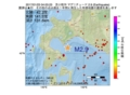 地震震源マップ:2017年01月23日 04時03分 苫小牧沖 M2.9