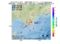 地震震源マップ:2017年01月24日 15時18分 十勝地方南部 M2.7