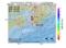 地震震源マップ:2017年01月24日 23時52分 紀伊水道 M2.8