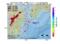 地震震源マップ:2017年01月25日 11時56分 日向灘 M2.7