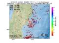地震震源マップ:2017年01月25日 15時02分 宮城県沖 M3.1