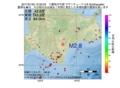 地震震源マップ:2017年01月25日 15時32分 十勝地方中部 M2.8