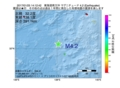 地震震源マップ:2017年01月25日 14時12分 東海道南方沖 M4.2