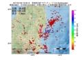 地震震源マップ:2017年01月25日 16時49分 茨城県北部 M2.5