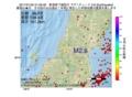 地震震源マップ:2017年01月25日 21時09分 新潟県下越地方 M2.8