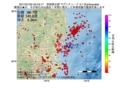 地震震源マップ:2017年01月25日 22時43分 茨城県北部 M2.7