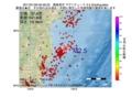 地震震源マップ:2017年01月26日 00時46分 福島県沖 M2.5