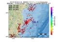 地震震源マップ:2017年01月26日 00時51分 福島県沖 M3.4