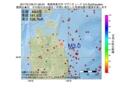 地震震源マップ:2017年01月26日 01時58分 青森県東方沖 M3.0