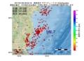 地震震源マップ:2017年01月26日 06時52分 福島県沖 M2.7