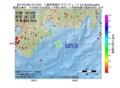 地震震源マップ:2017年01月26日 12時13分 三重県南東沖 M3.9