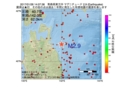 地震震源マップ:2017年01月26日 14時07分 青森県東方沖 M2.9