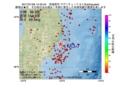 地震震源マップ:2017年01月26日 14時45分 宮城県沖 M3.7