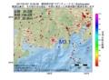 地震震源マップ:2017年01月27日 12時35分 静岡県中部 M3.1