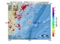 地震震源マップ:2017年01月27日 12時54分 茨城県沖 M2.5