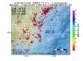 地震震源マップ:2017年01月28日 10時54分 茨城県沖 M2.6