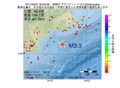 地震震源マップ:2017年02月01日 00時03分 釧路沖 M3.3