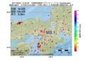 地震震源マップ:2017年02月01日 12時42分 兵庫県南東部 M3.1