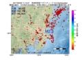 地震震源マップ:2017年02月02日 11時15分 茨城県南部 M2.5