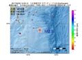 地震震源マップ:2017年02月02日 12時40分 八丈島東方沖 M2.9