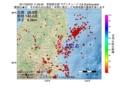 地震震源マップ:2017年02月03日 11時29分 茨城県北部 M2.8