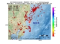 地震震源マップ:2017年02月03日 20時58分 茨城県沖 M3.8