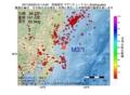 地震震源マップ:2017年02月03日 21時14分 茨城県沖 M3.1