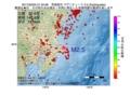 地震震源マップ:2017年02月03日 21時34分 茨城県沖 M2.5