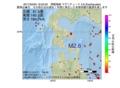地震震源マップ:2017年02月05日 19時25分 津軽海峡 M2.6