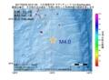 地震震源マップ:2017年02月05日 22時21分 八丈島東方沖 M4.0