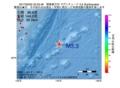 地震震源マップ:2017年02月05日 22時33分 関東東方沖 M3.3