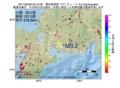地震震源マップ:2017年02月06日 03時16分 愛知県西部 M3.2