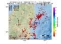 地震震源マップ:2017年02月06日 14時01分 茨城県北部 M2.5