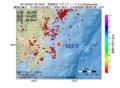 地震震源マップ:2017年02月07日 00時18分 茨城県沖 M3.0