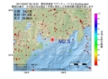 地震震源マップ:2017年02月07日 06時19分 愛知県東部 M2.5