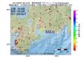 地震震源マップ:2017年02月07日 08時15分 愛知県西部 M3.6