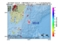 地震震源マップ:2017年02月07日 16時21分 大隅半島東方沖 M3.8
