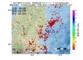 地震震源マップ:2017年02月07日 21時43分 茨城県北部 M2.6