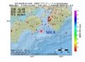 地震震源マップ:2017年02月08日 03時19分 四国沖 M4.4