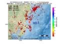 地震震源マップ:2017年02月08日 04時44分 茨城県沖 M3.5
