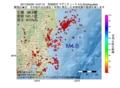 地震震源マップ:2017年02月09日 14時07分 茨城県沖 M4.0