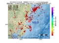 地震震源マップ:2017年02月10日 12時18分 茨城県沖 M3.5