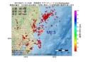 地震震源マップ:2017年02月11日 11時14分 茨城県沖 M2.5