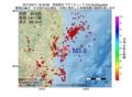 地震震源マップ:2017年02月11日 16時33分 茨城県沖 M3.6