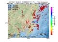 地震震源マップ:2017年02月11日 20時08分 茨城県南部 M2.9