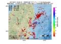 地震震源マップ:2017年02月11日 23時06分 茨城県北部 M2.8