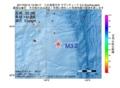 地震震源マップ:2017年02月12日 15時59分 八丈島東方沖 M3.2