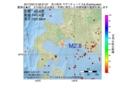 地震震源マップ:2017年02月13日 09時27分 苫小牧沖 M2.8