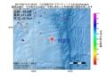 地震震源マップ:2017年02月14日 01時35分 八丈島東方沖 M2.8