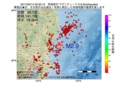 地震震源マップ:2017年02月14日 22時30分 茨城県沖 M2.9